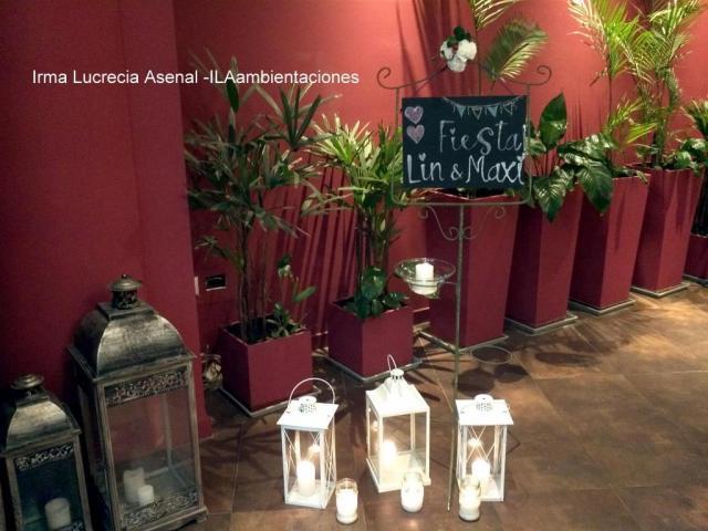 Irma Lucrecia Asenal (Ambientación y Centros de Mesa) | Casamientos Online
