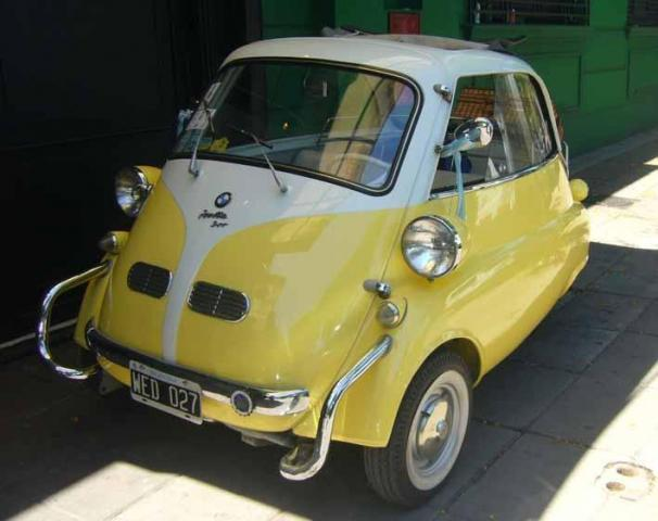 Isetta 1958 (Ratón aleman) | Casamientos Online