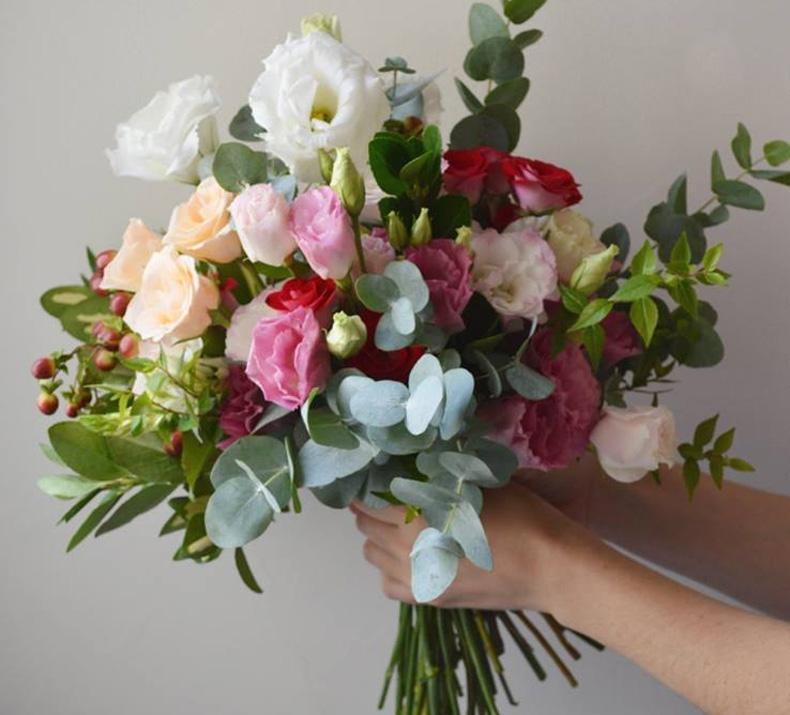 Flores de invierno para el ramo de novia