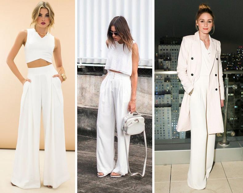 Los modelos protagonistas son los pantalones oxford o anchos.