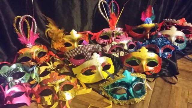 50  Mascaras Venecianas Decoradas
