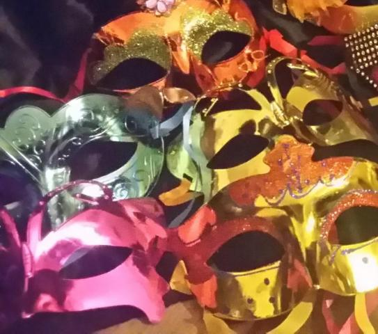 Combo 20 Mascaras Venecianas Super Decoradas
