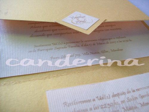 Canderina Invitaciones (Participaciones)