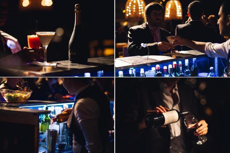 Como calcular la bebida para el casamiento. barras de tragos