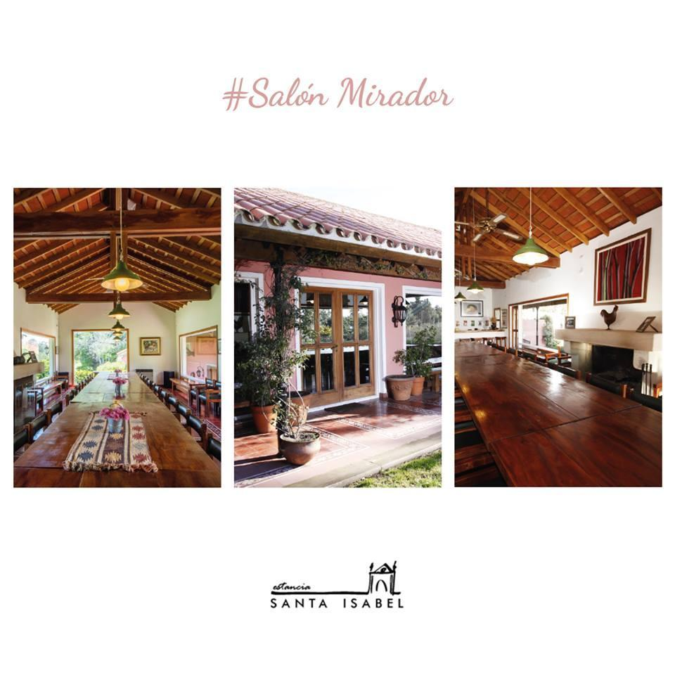 Salón Mirador - Estancia Santa Isabel