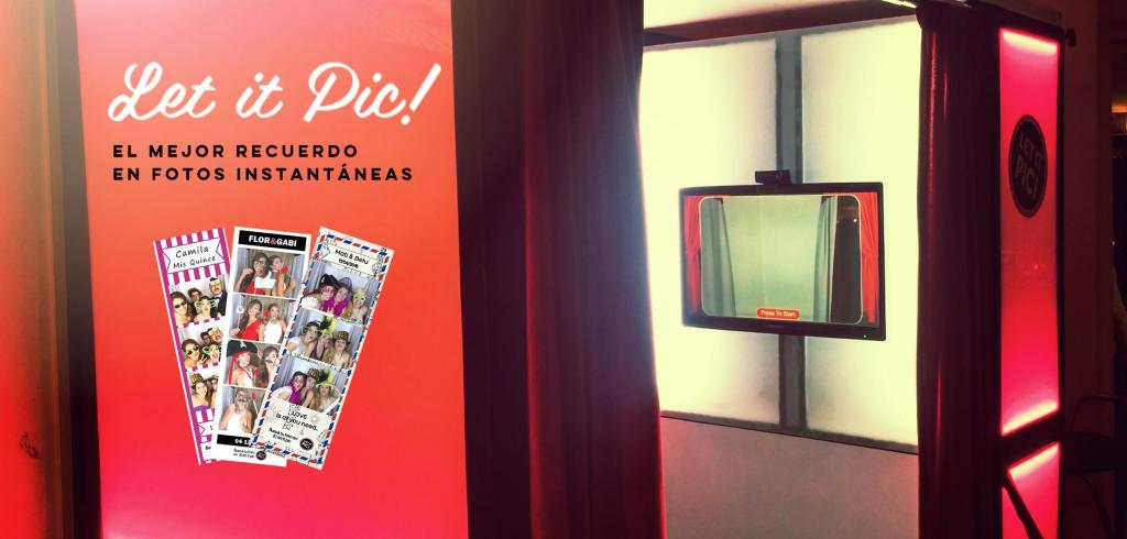 Let it Pic (Cabinas de mensajes, fotos y video)