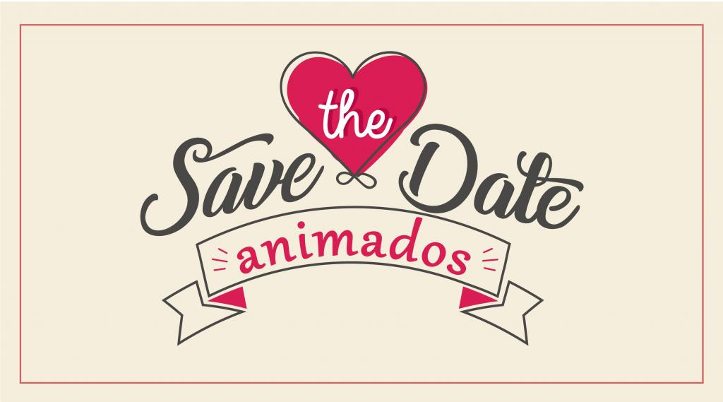 Save the Date Animados