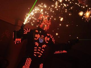 Tron Laser Show