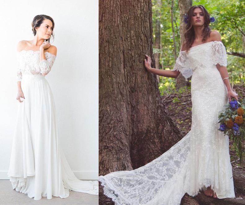 tendencias bridal 2017: vestidos de novia | casamientos online