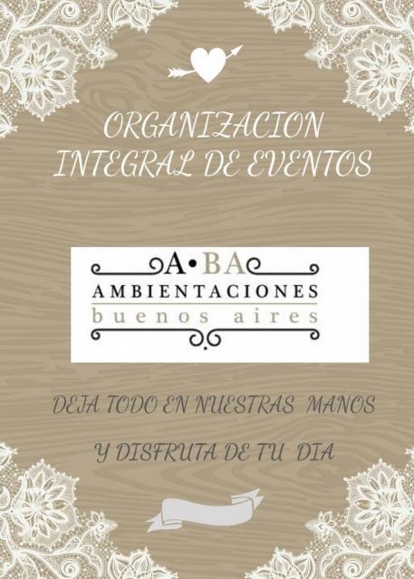 ORGANIZACION INTEGRAL DE EVENTOS