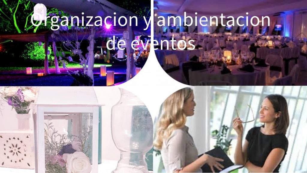 PAQUETE ORGANIZACION Y AMBIENTACION DEL EVENTO