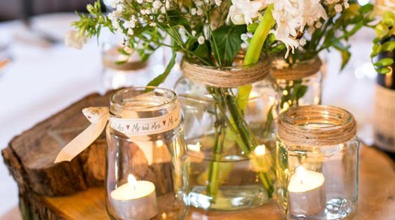 Arreglos florales DIY