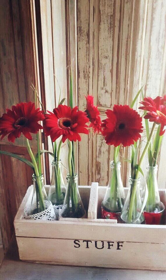 Deco con flores - De prestado