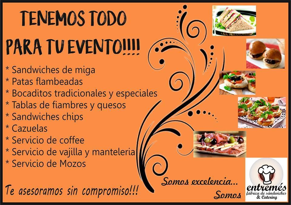 Entremes Sandwiches y Catering (Catering)