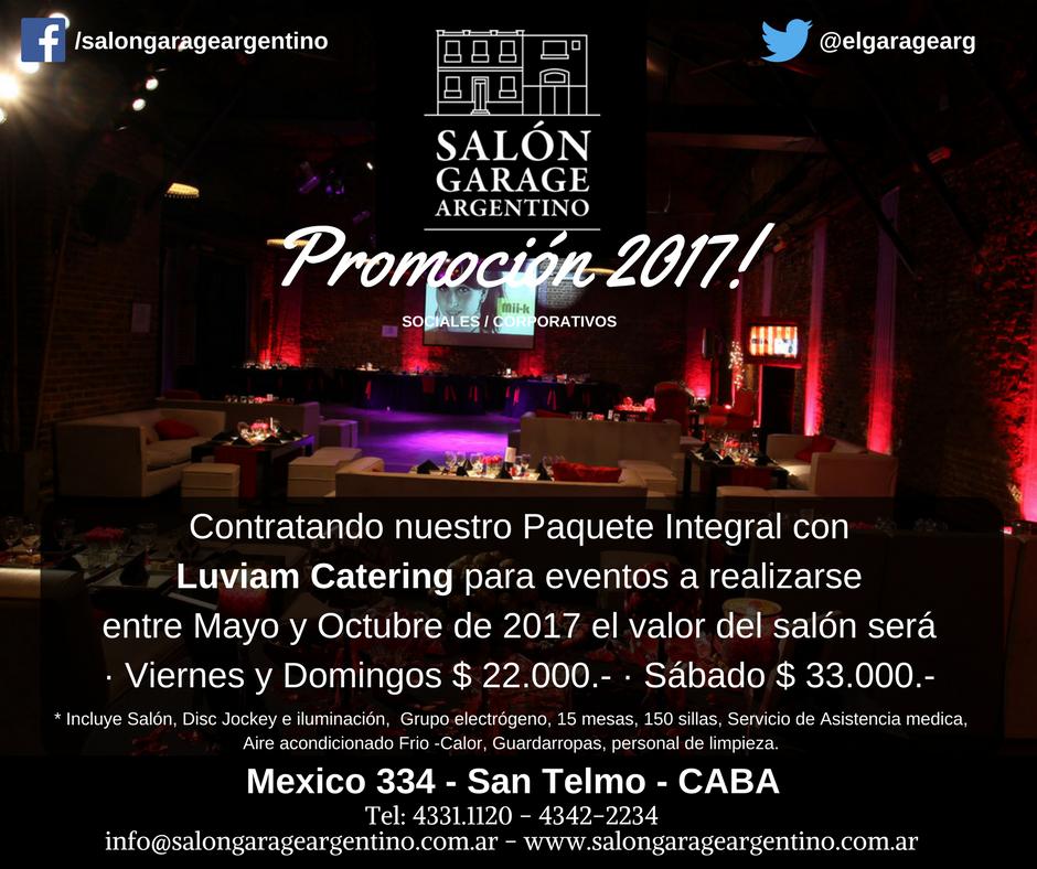 Salón Garage Argentino