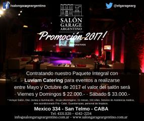 Imagen de Salón Garage Argentino...