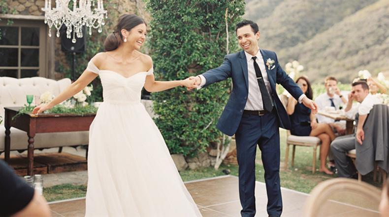 Casamiento al aire libre