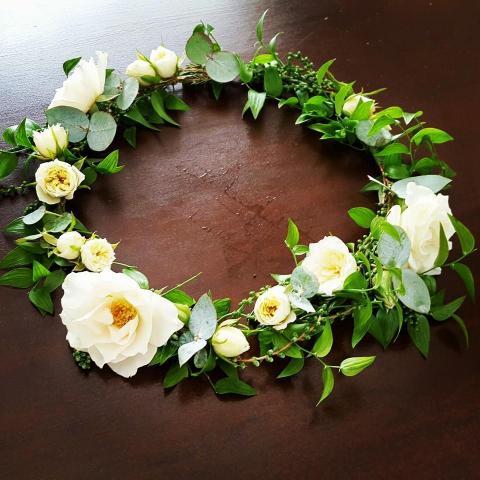 Coronas de flores (cortejos) | Casamientos Online