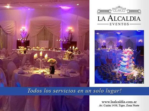 LA ALCALDÍA EVENTOS | Casamientos Online