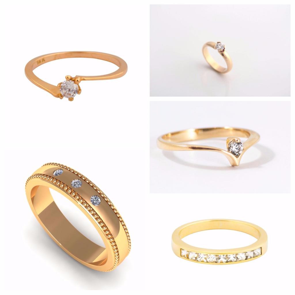 El anillo de compromiso, metal, piedra, como deberia ser