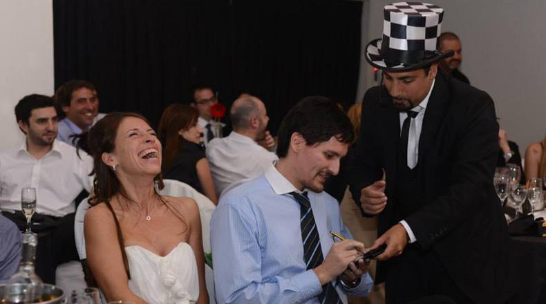 Shows de magia para casamientos