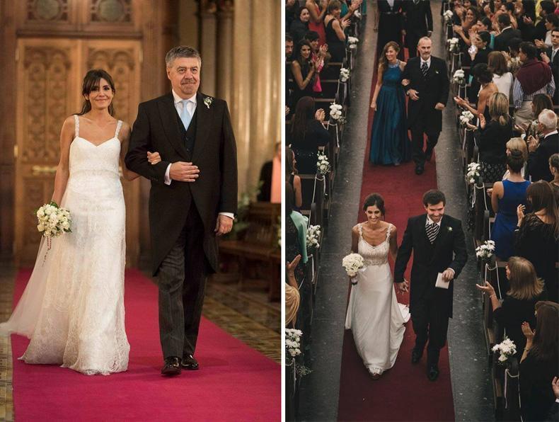 Protocolo de vestimenta para los familiares de la pareja