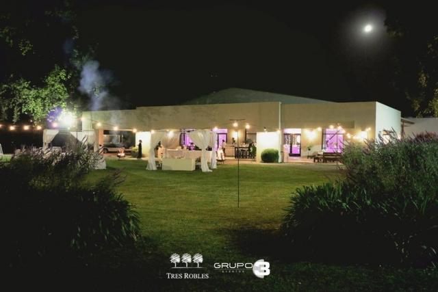 Tres Robles, experiencia en eventos | Casamientos Online