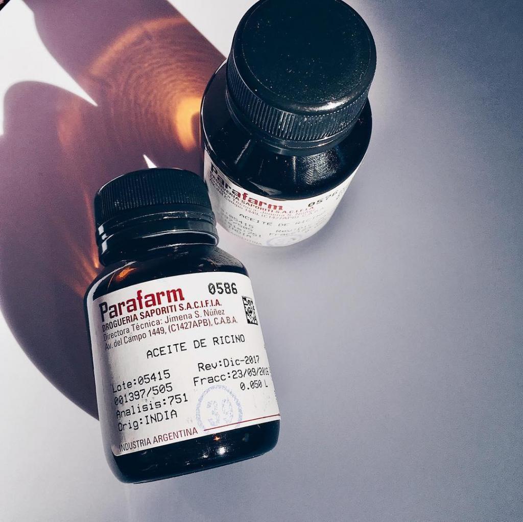 Aceite de Ricino para cejas y pestañas