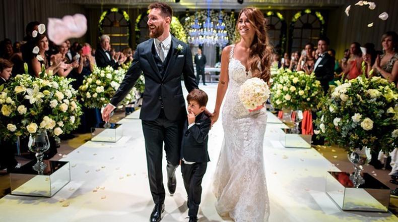 Casamiento Messi
