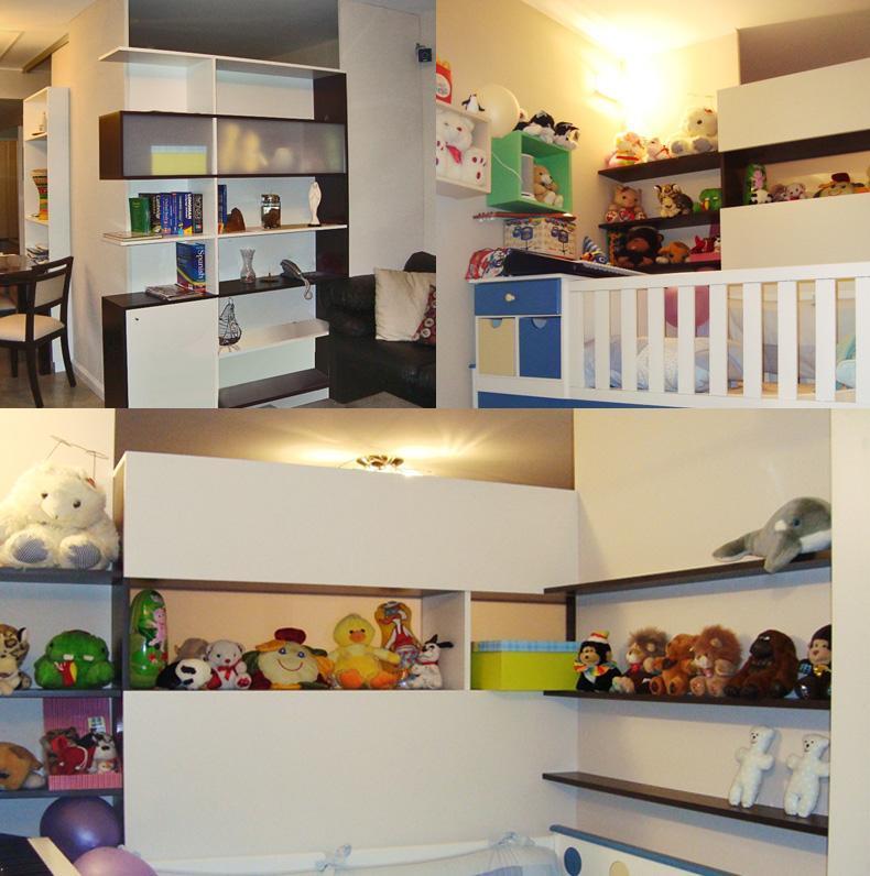 Departamento de 2 ambientes adaptado para la llegada de un bebé