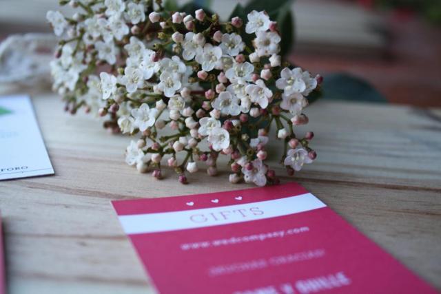 Tarjeta de regalos | Casamientos Online