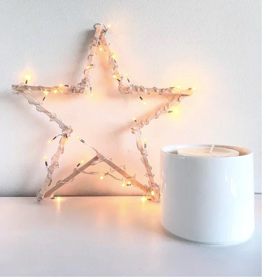 Tutorial para hacer una estrella con luces!