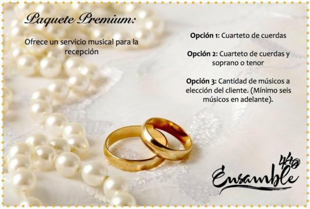Cuarteto de Cuerdas | Casamientos Online