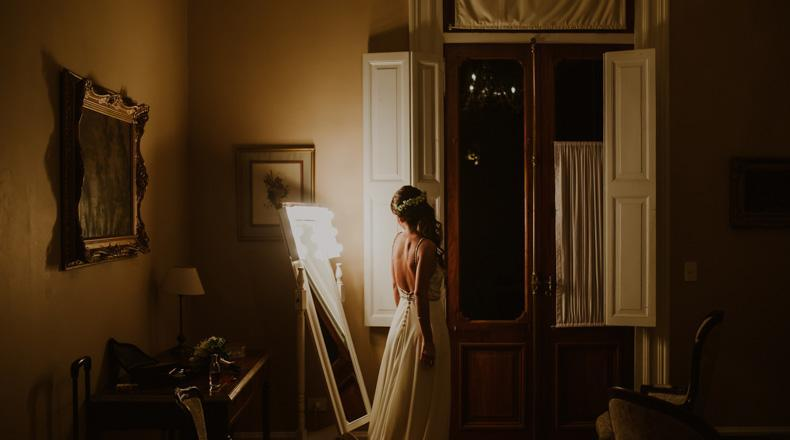 Vestido de novia de florencia pierro
