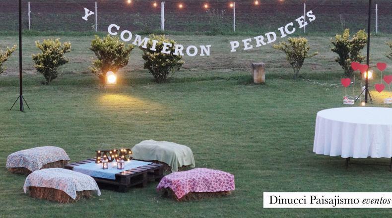 Ambientación para Casamientos. Clásica, Romántica o Vintage