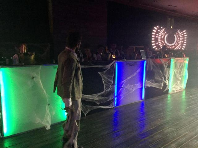 Barra temática Halloween | Casamientos Online