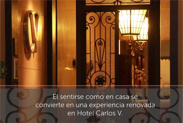 Carlos V Hotel - Salón Maximiliano
