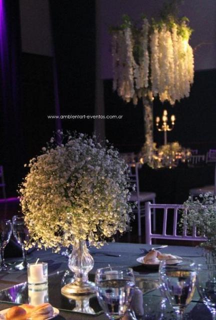 centros de mesas , topiarios , arboles  | Casamientos Online