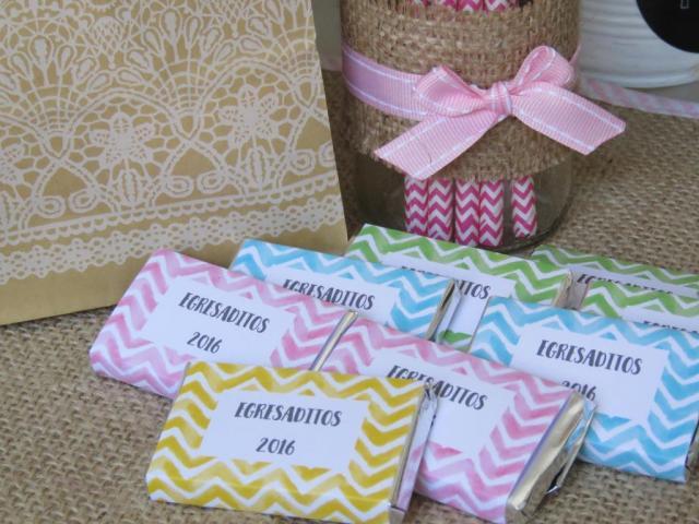 Chocolate personalizado | Casamientos Online
