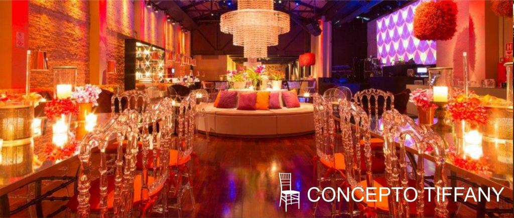 Concepto Tiffany - Silla Royal Cristal