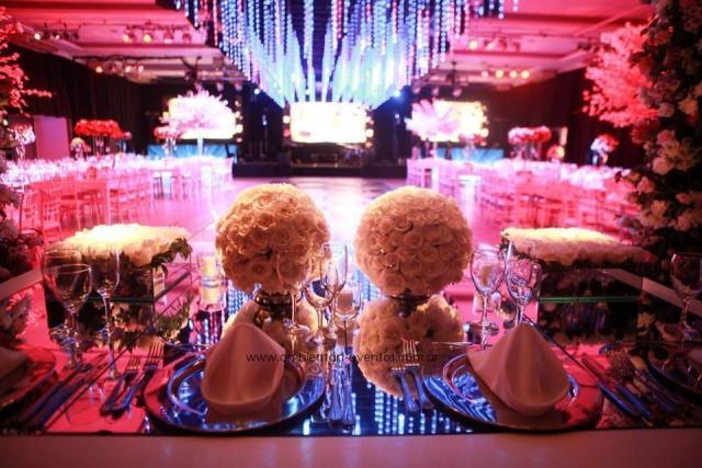 decoración de mesa cabecera. | Casamientos Online
