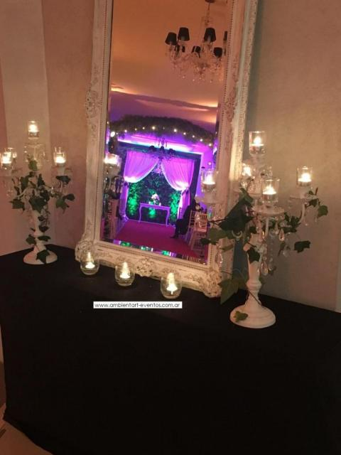 espejos , mesas dresuar , detalles para la recepción ... | Casamientos Online