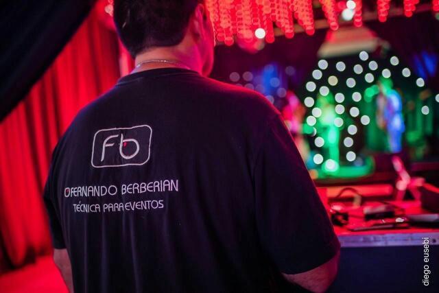 Fernando Berberian Sonido, Iluminación e Imagen (Sonido e iluminación)