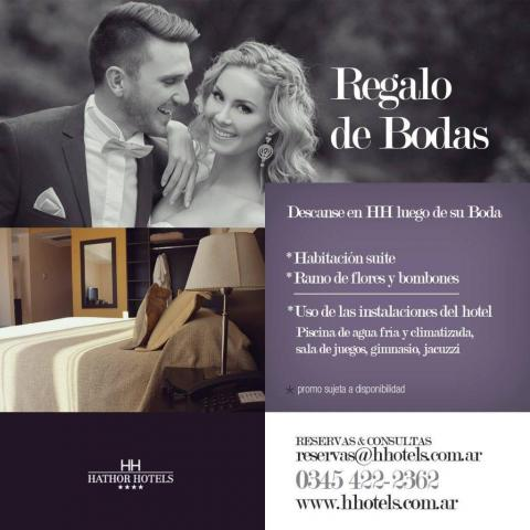 Hathor Hotels - Regalo de bodas