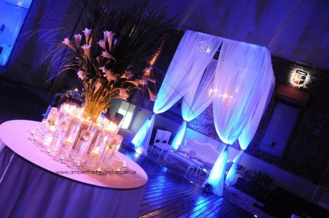 la ambientación de recepcion  | Casamientos Online