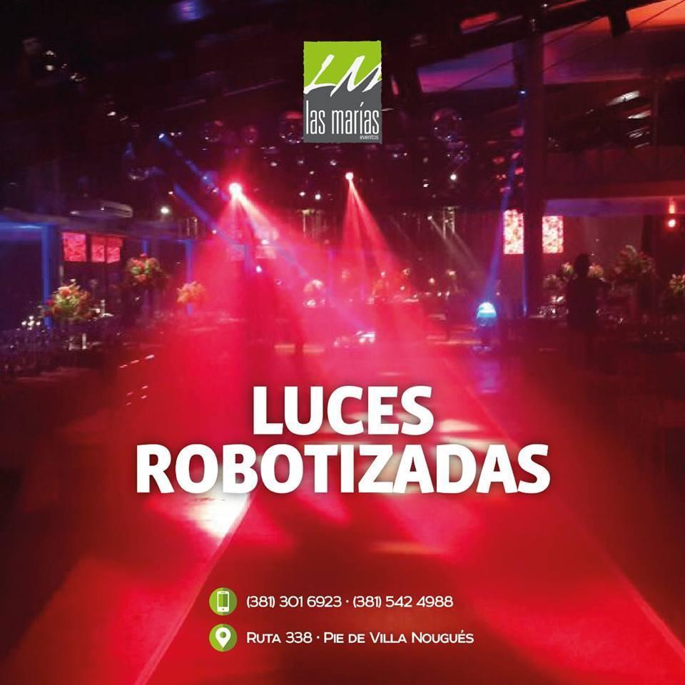 Las Marías - Luces Robotizadas