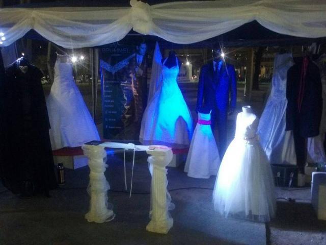 Linda vestidos - Servicio completo de alquiler
