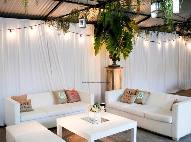Living linea Net + detalles acompañando .... | Casamientos Online