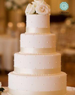 Torta de Bodas Clasica | Casamientos Online