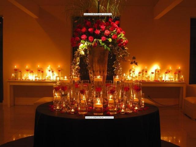 recepción , la mesa lobby  | Casamientos Online